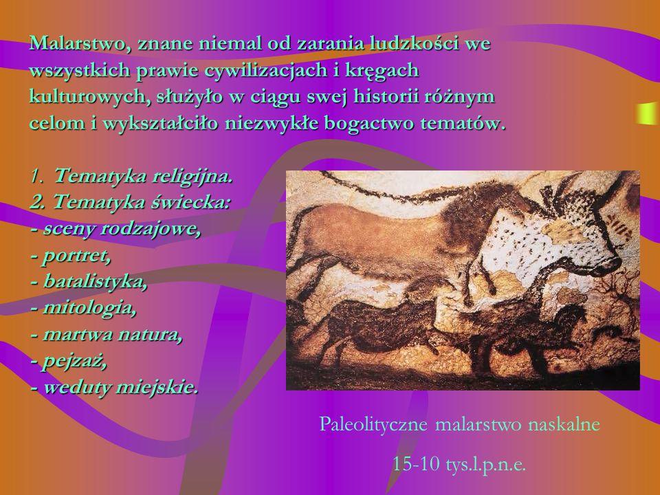 Paleolityczne malarstwo naskalne