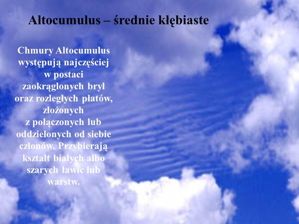 Altocumulus – średnie kłębiaste