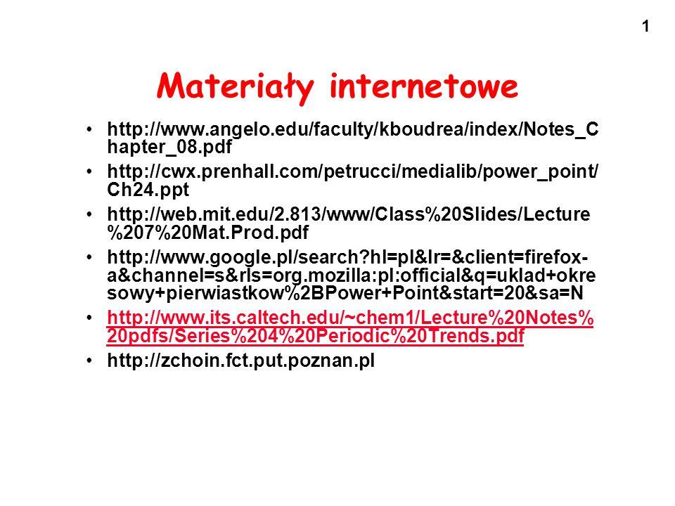 Materiały internetowe