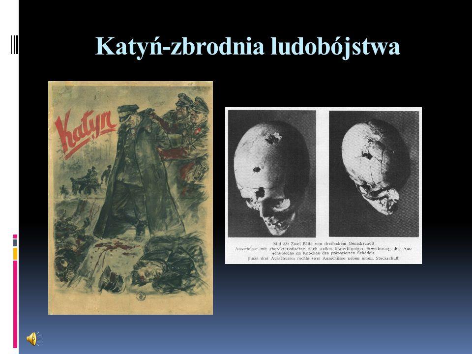 Katyń-zbrodnia ludobójstwa