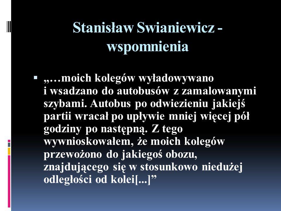 Stanisław Swianiewicz - wspomnienia