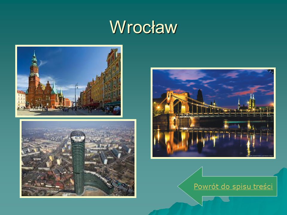 Wrocław Powrót do spisu treści
