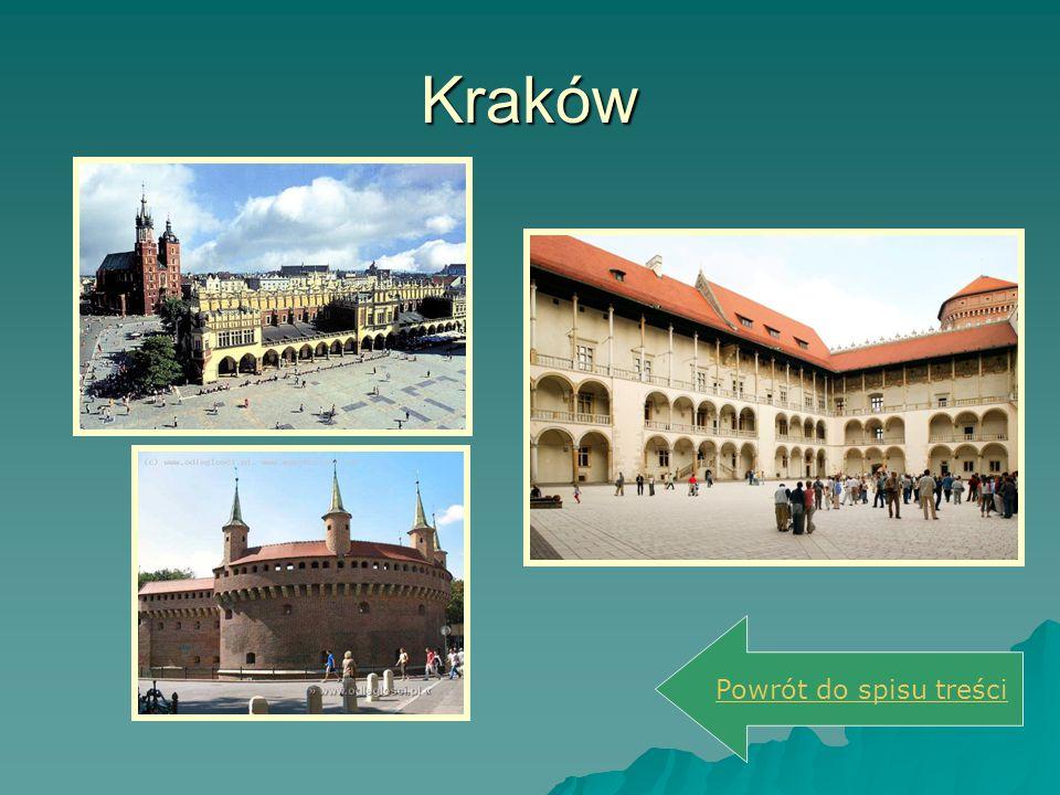 Kraków Powrót do spisu treści