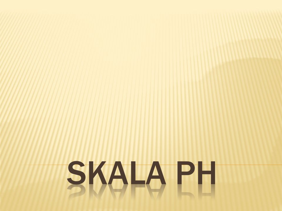 Skala ph