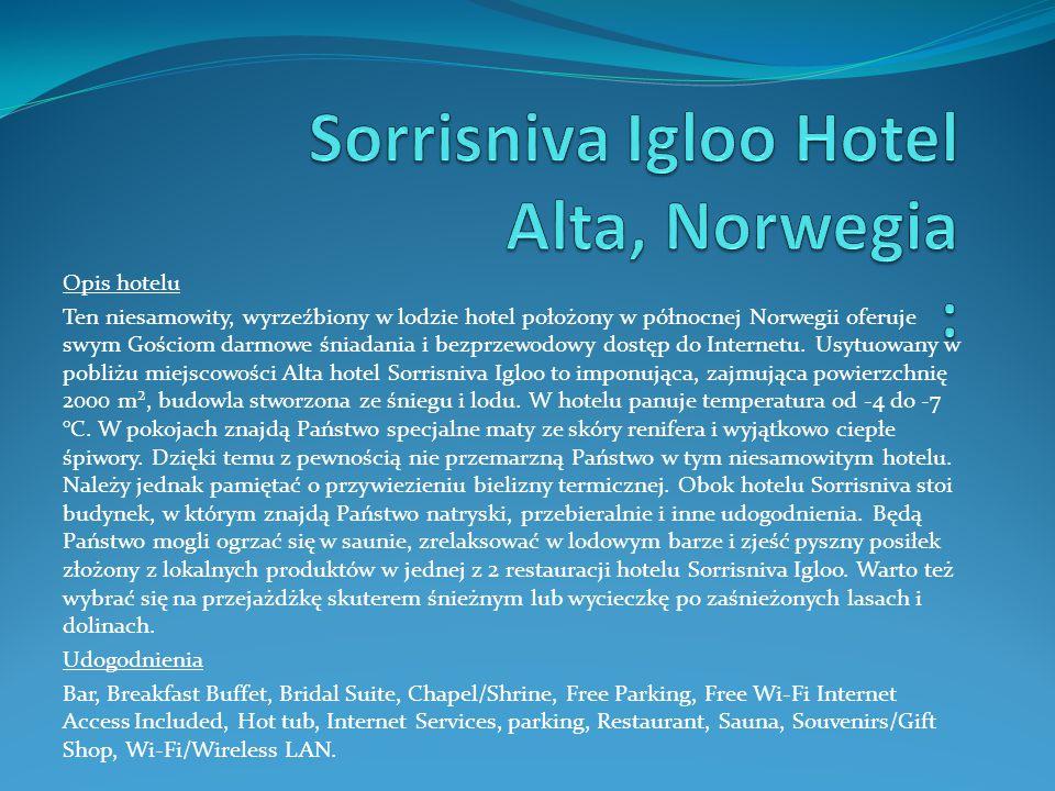 Sorrisniva Igloo Hotel Alta, Norwegia :