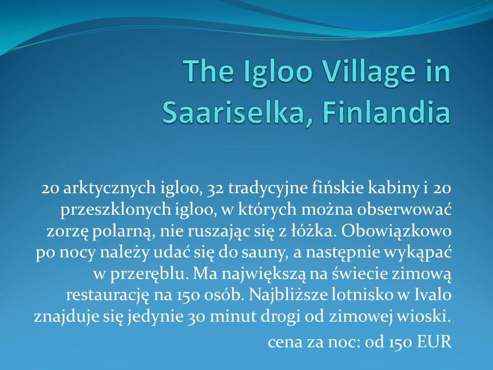 The Igloo Village in Saariselka, Finlandia