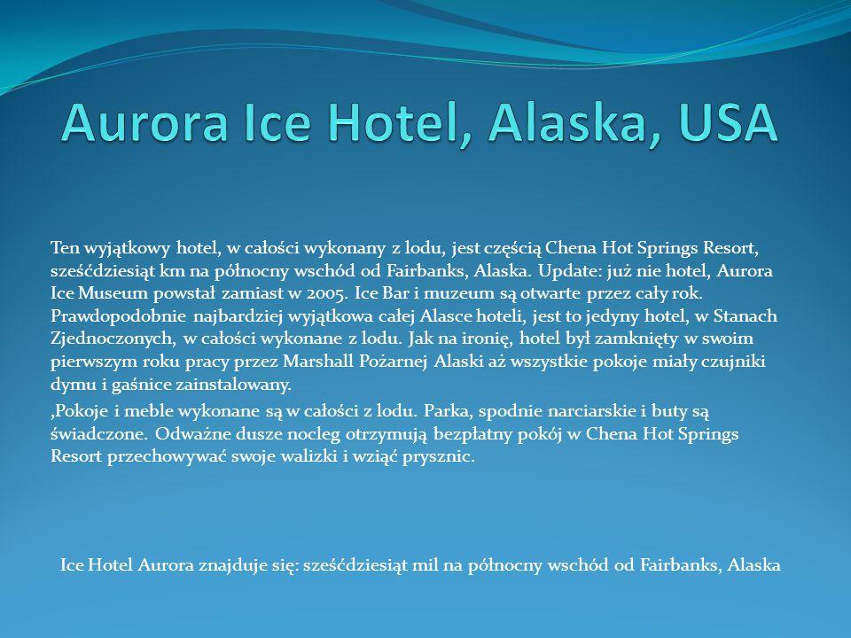 Aurora Ice Hotel, Alaska, USA