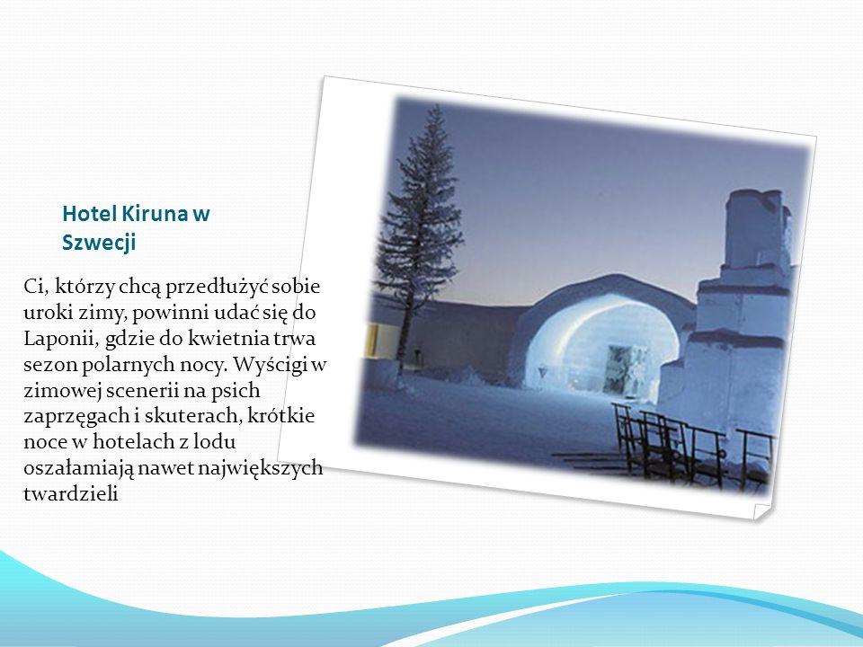 Hotel Kiruna w Szwecji