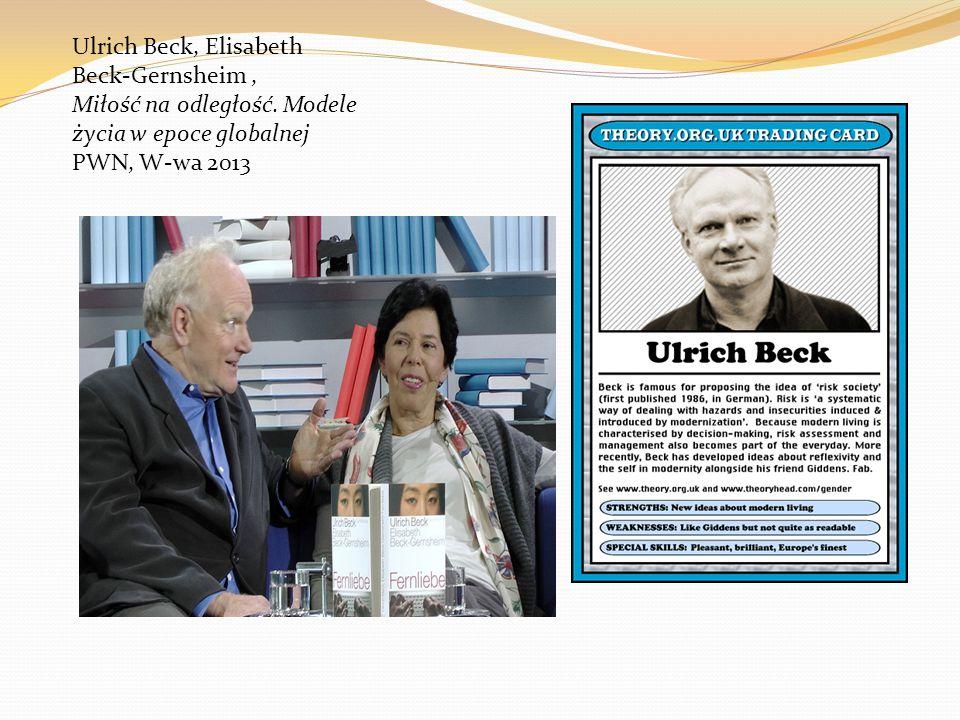 Ulrich Beck, Elisabeth Beck-Gernsheim , Miłość na odległość