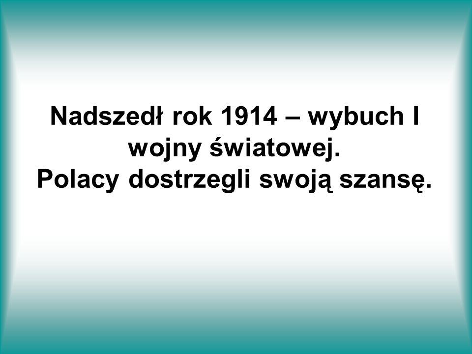 Nadszedł rok 1914 – wybuch I wojny światowej