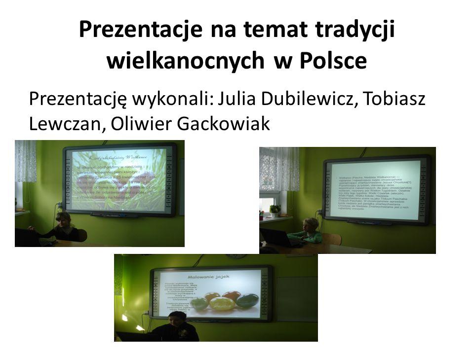 Prezentacje na temat tradycji wielkanocnych w Polsce