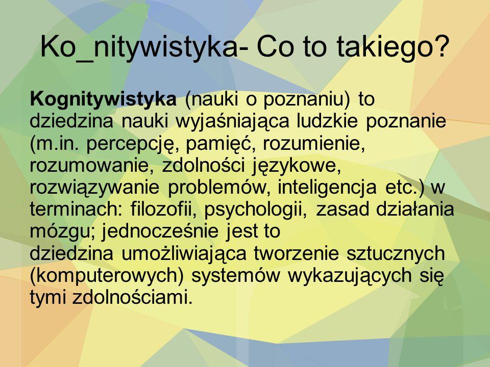 Ko_nitywistyka- Co to takiego