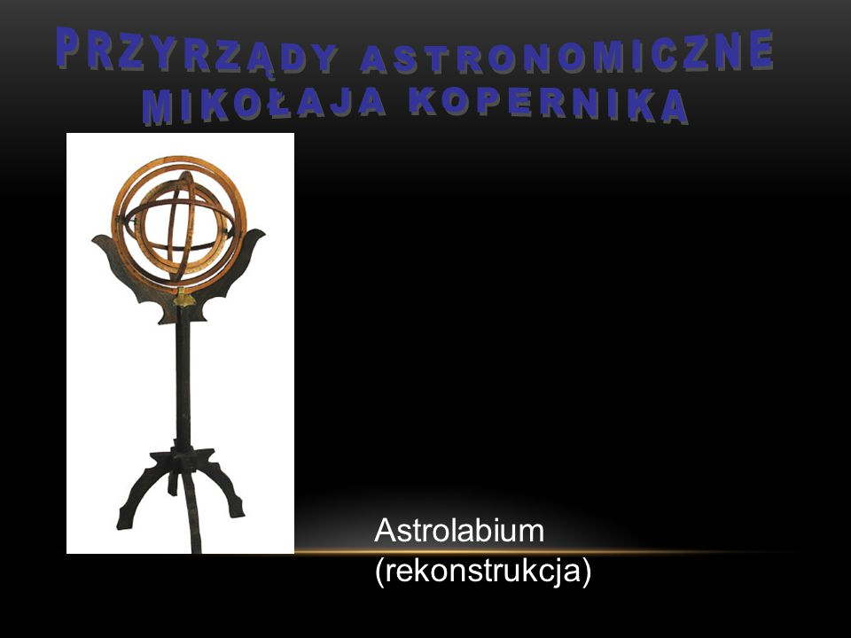 Przyrządy astronomiczne