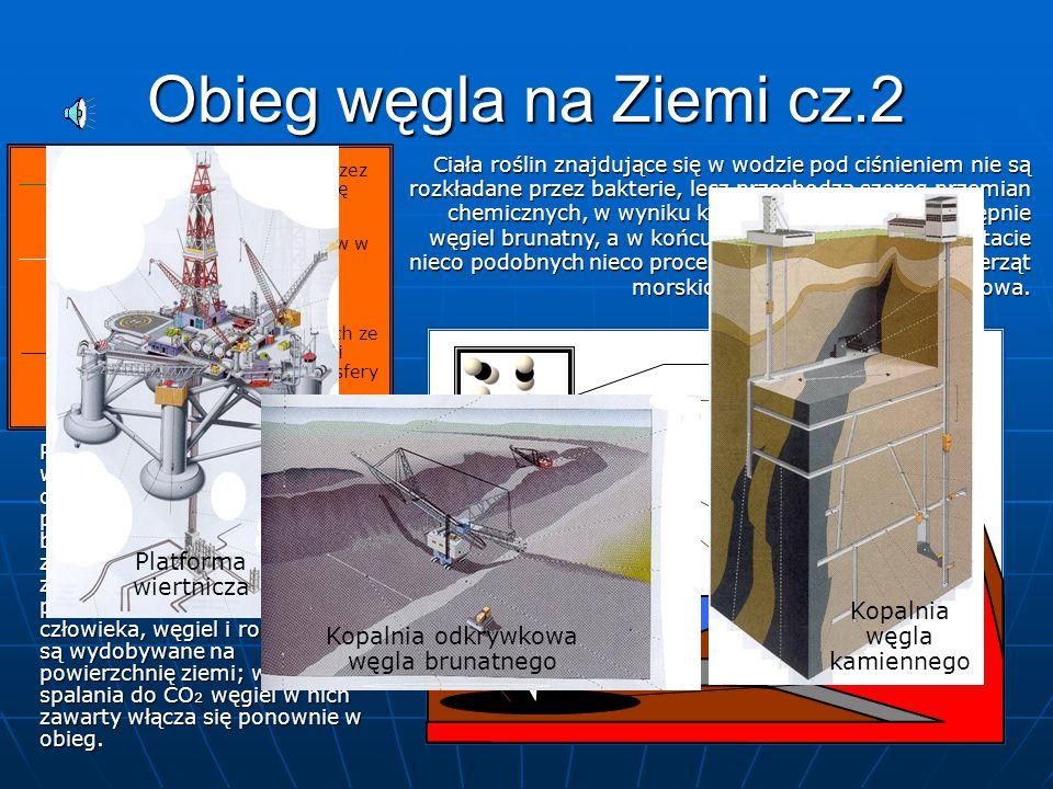 Obieg węgla na Ziemi cz.2 Platforma wiertnicza