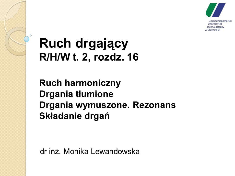 dr inż. Monika Lewandowska