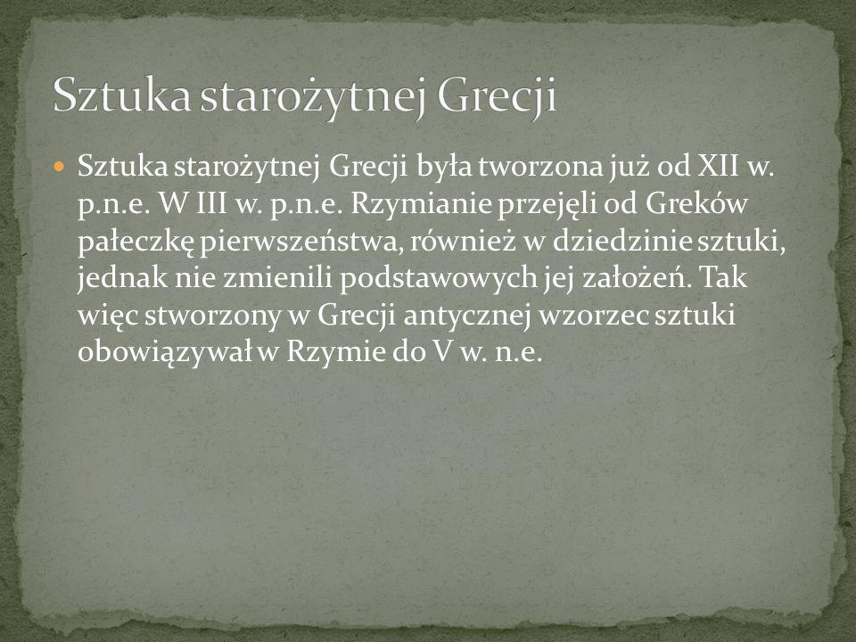 Sztuka starożytnej Grecji
