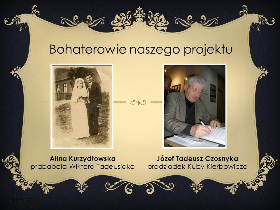 Bohaterowie naszego projektu