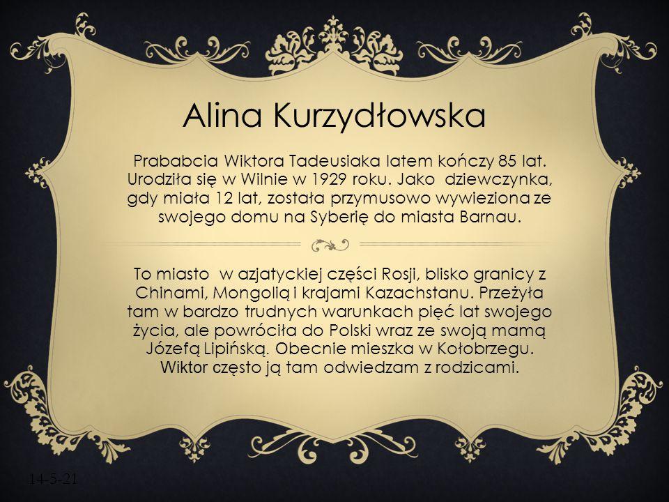 Alina Kurzydłowska