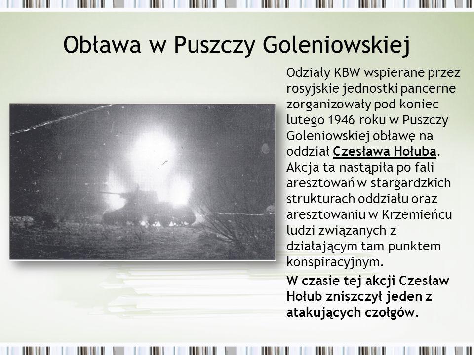 Obława w Puszczy Goleniowskiej