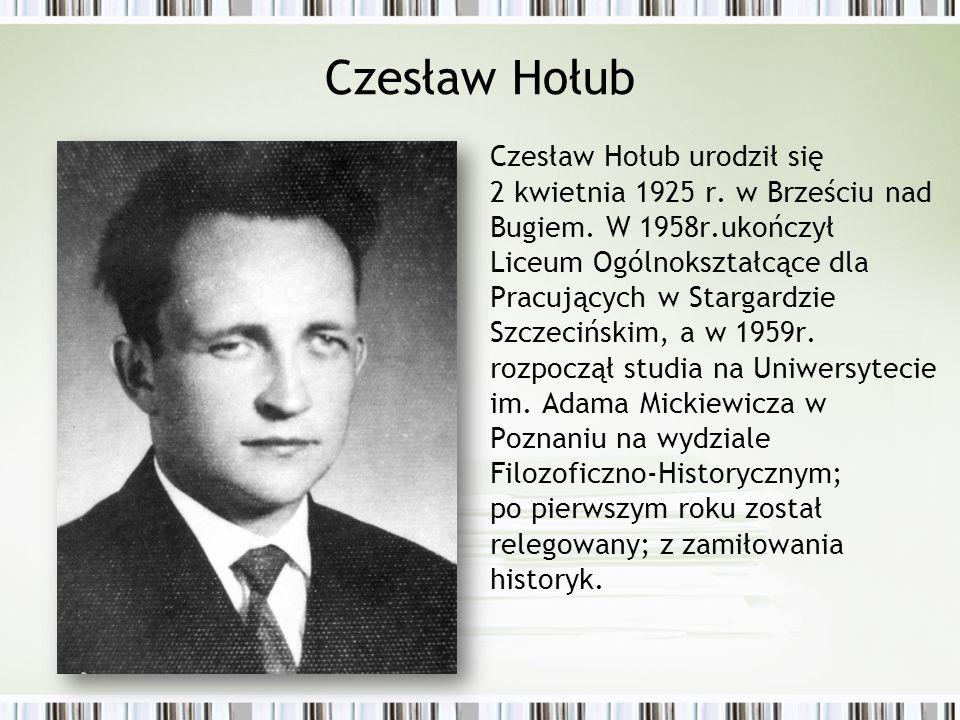 Czesław Hołub