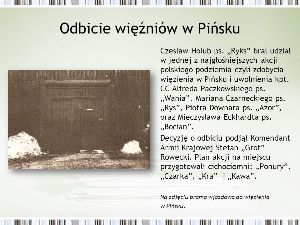 Odbicie więźniów w Pińsku