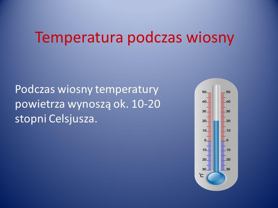 Temperatura podczas wiosny