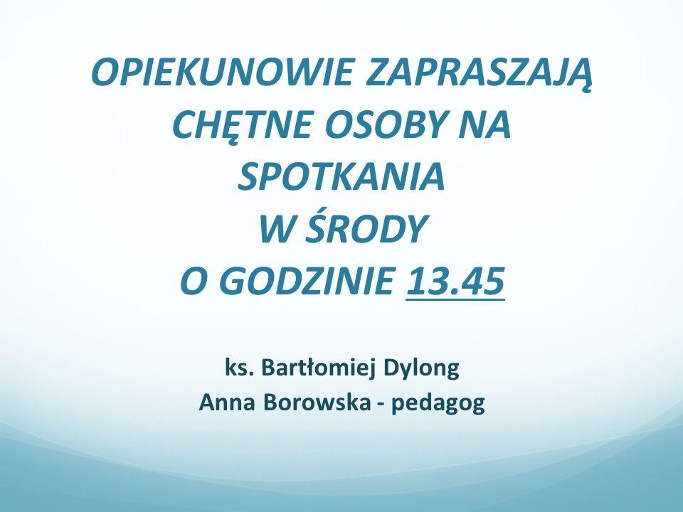 Anna Borowska - pedagog