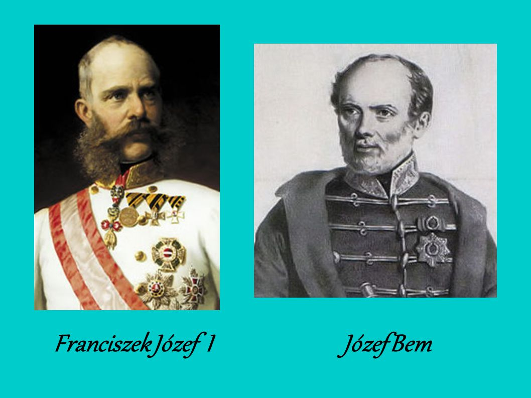 Franciszek Józef I Józef Bem