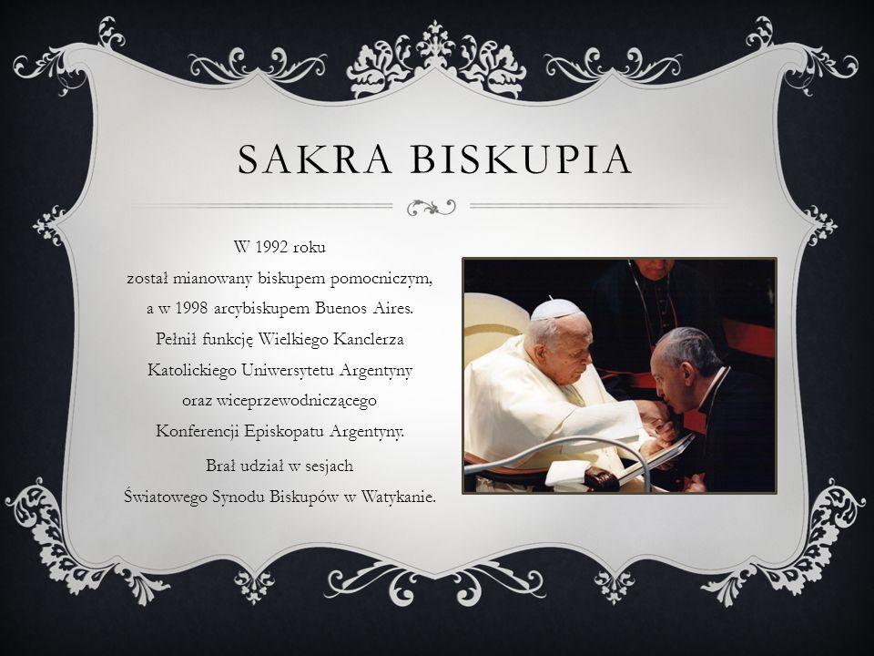 Brał udział w sesjach Światowego Synodu Biskupów w Watykanie.