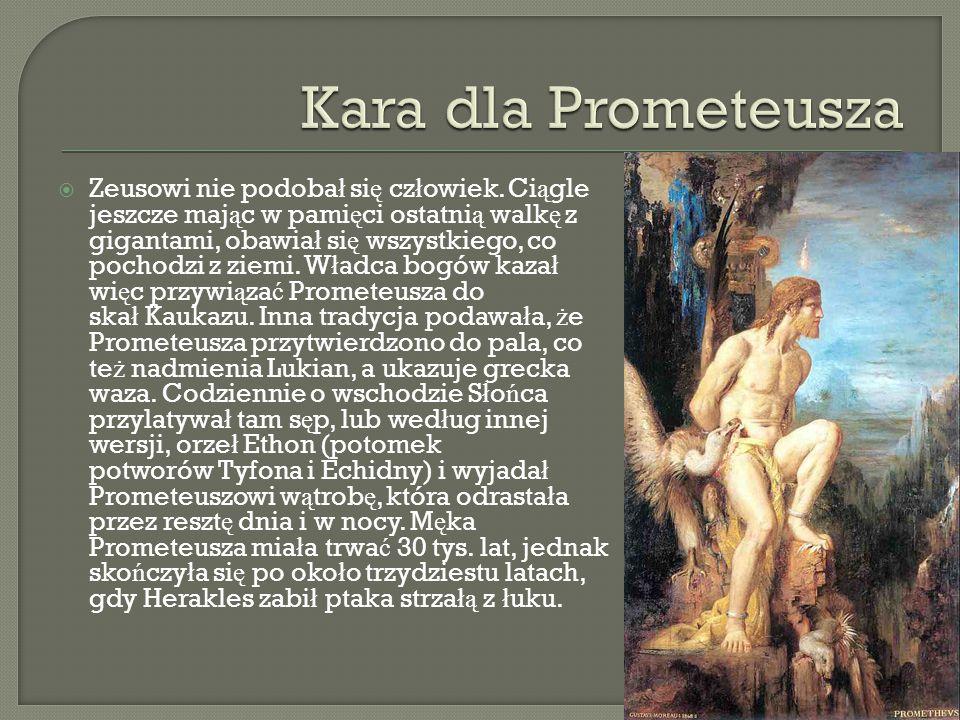 Kara dla Prometeusza