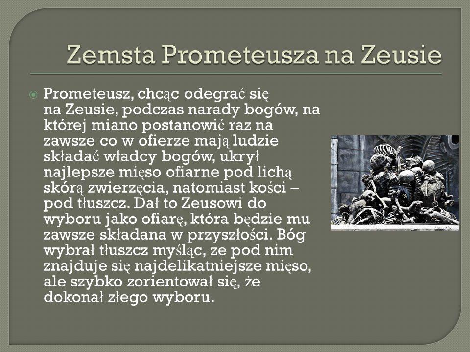 Zemsta Prometeusza na Zeusie