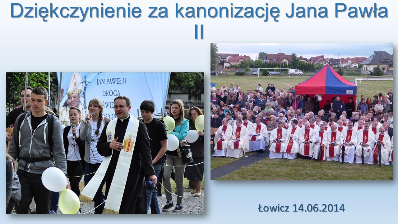 Dziękczynienie za kanonizację Jana Pawła II