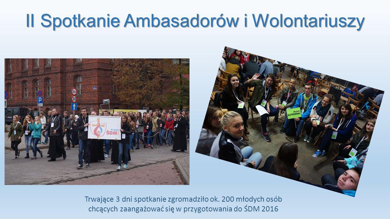 II Spotkanie Ambasadorów i Wolontariuszy