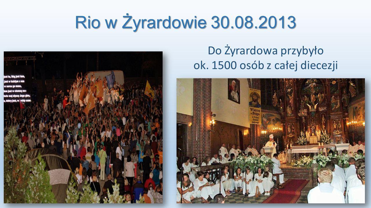 Do Żyrardowa przybyło ok. 1500 osób z całej diecezji