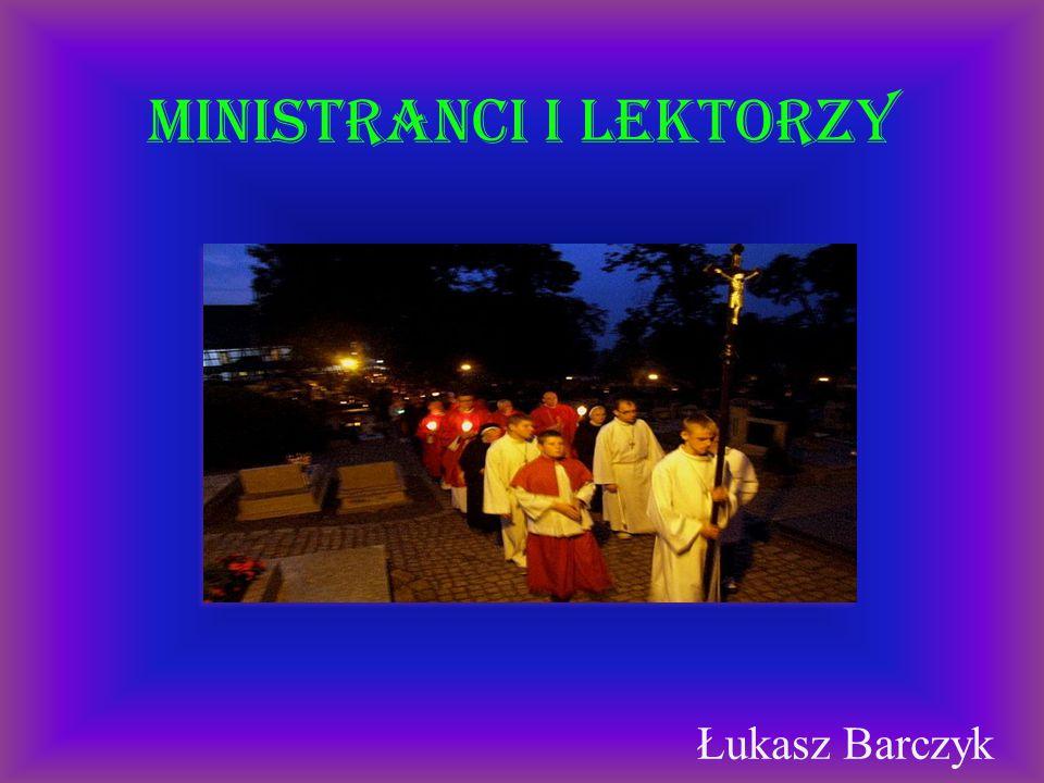 Ministranci i lektorzy