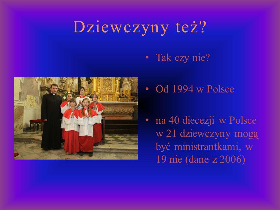 Dziewczyny też Tak czy nie Od 1994 w Polsce