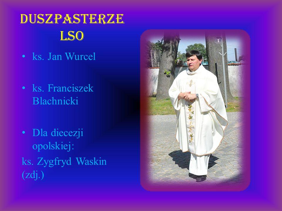 Duszpasterze LSO ks. Jan Wurcel ks. Franciszek Blachnicki
