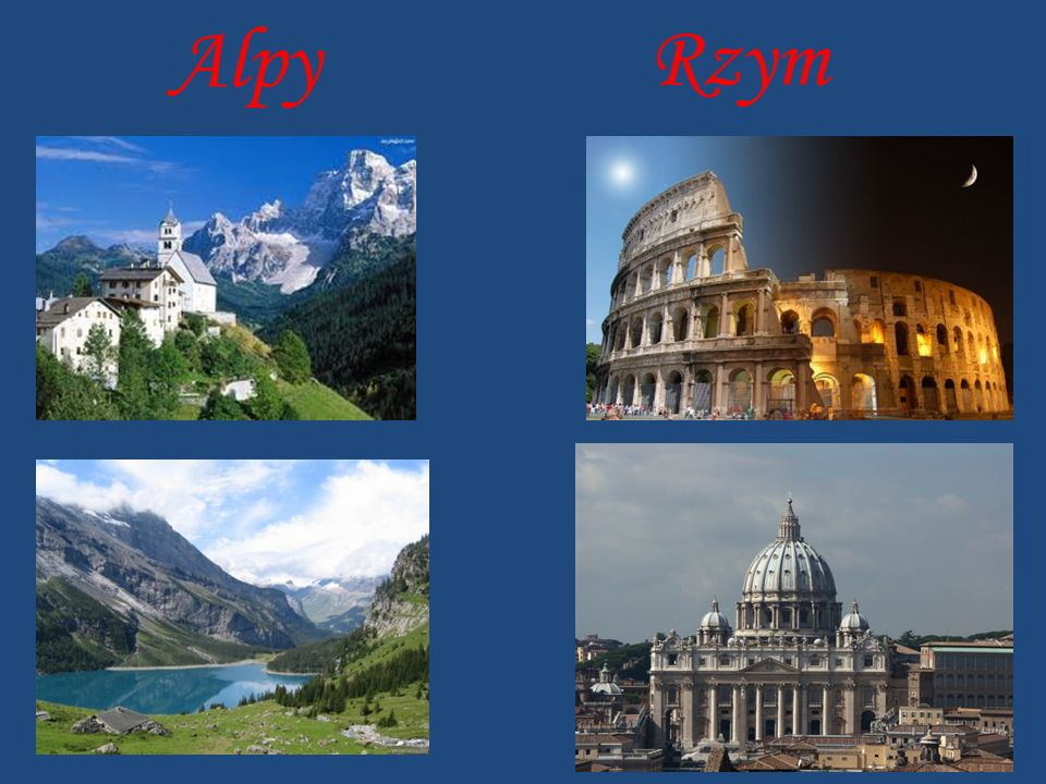 Alpy Rzym