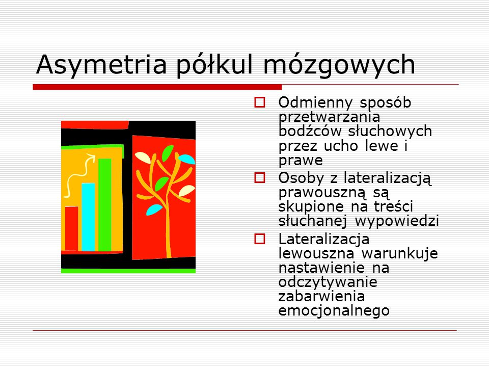 Asymetria półkul mózgowych