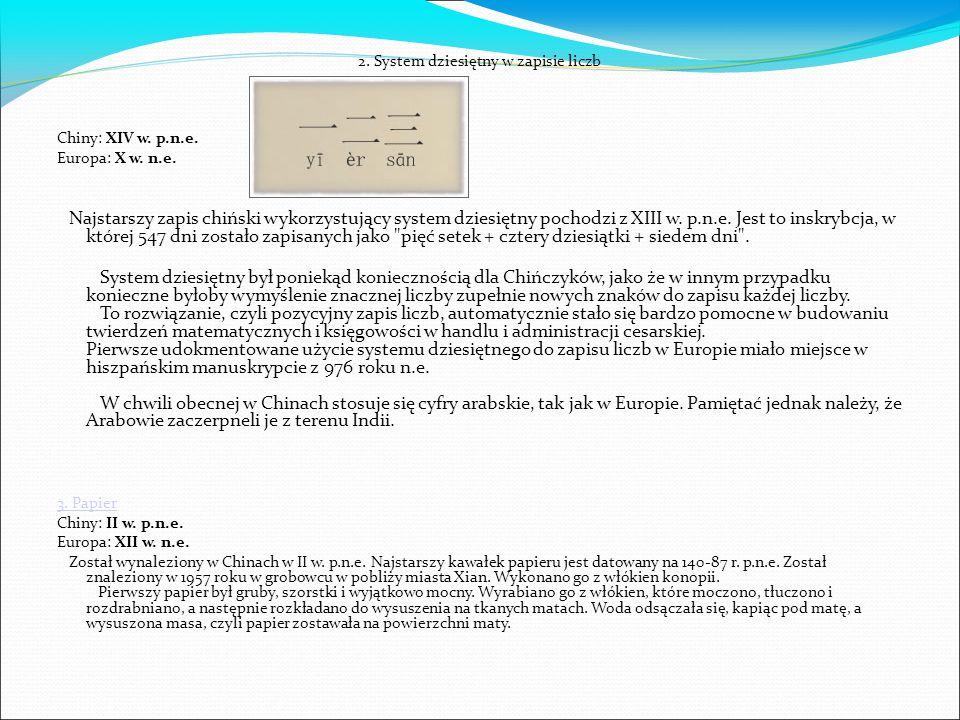2. System dziesiętny w zapisie liczb