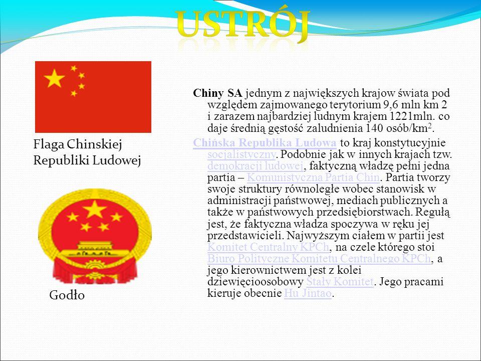 Flaga Chinskiej Republiki Ludowej