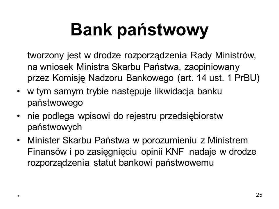 Bank państwowy