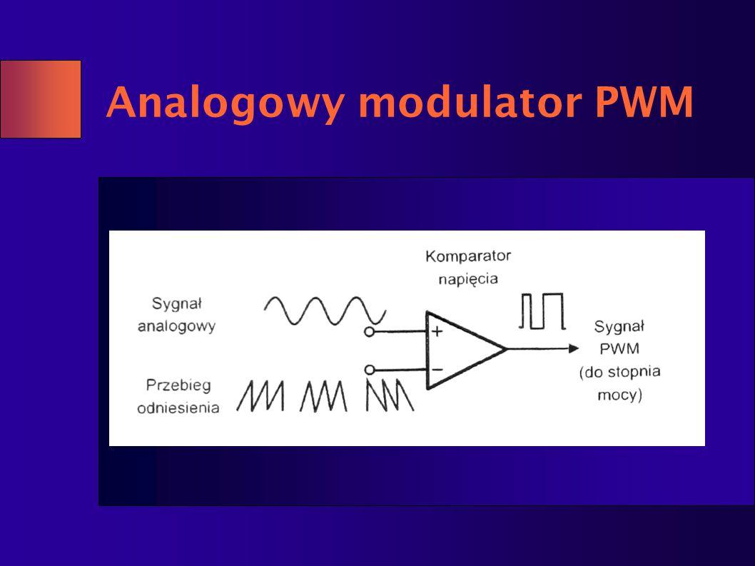 Analogowy modulator PWM