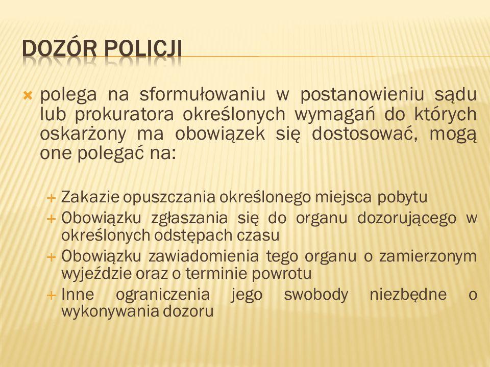 Dozór policji