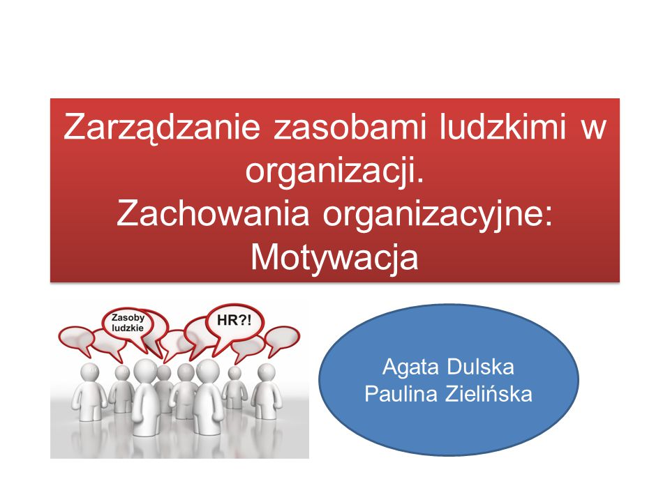 Agata Dulska Paulina Zielińska
