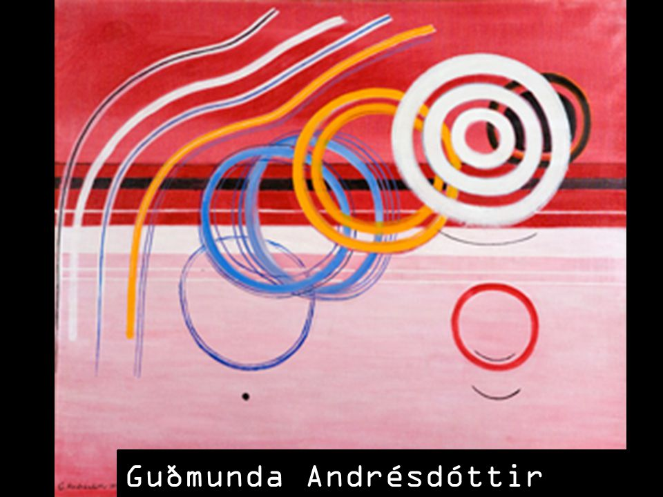 Guðmunda Andrésdóttir (1922 - 2002)