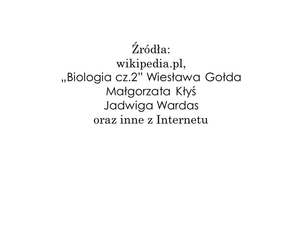 """""""Biologia cz.2 Wiesława Gołda Małgorzata Kłyś"""