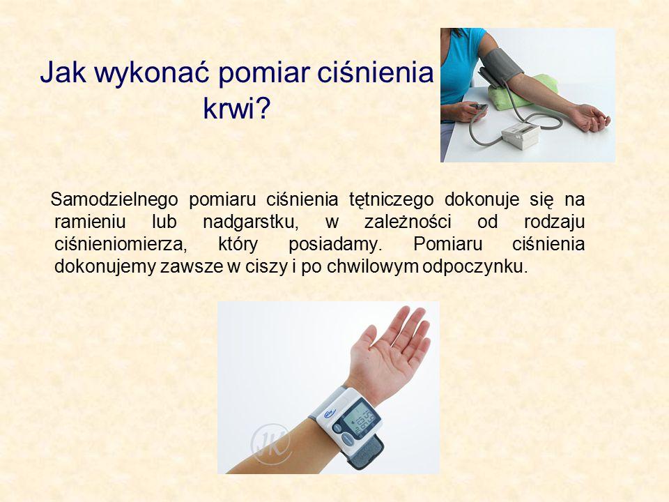 Jak wykonać pomiar ciśnienia krwi