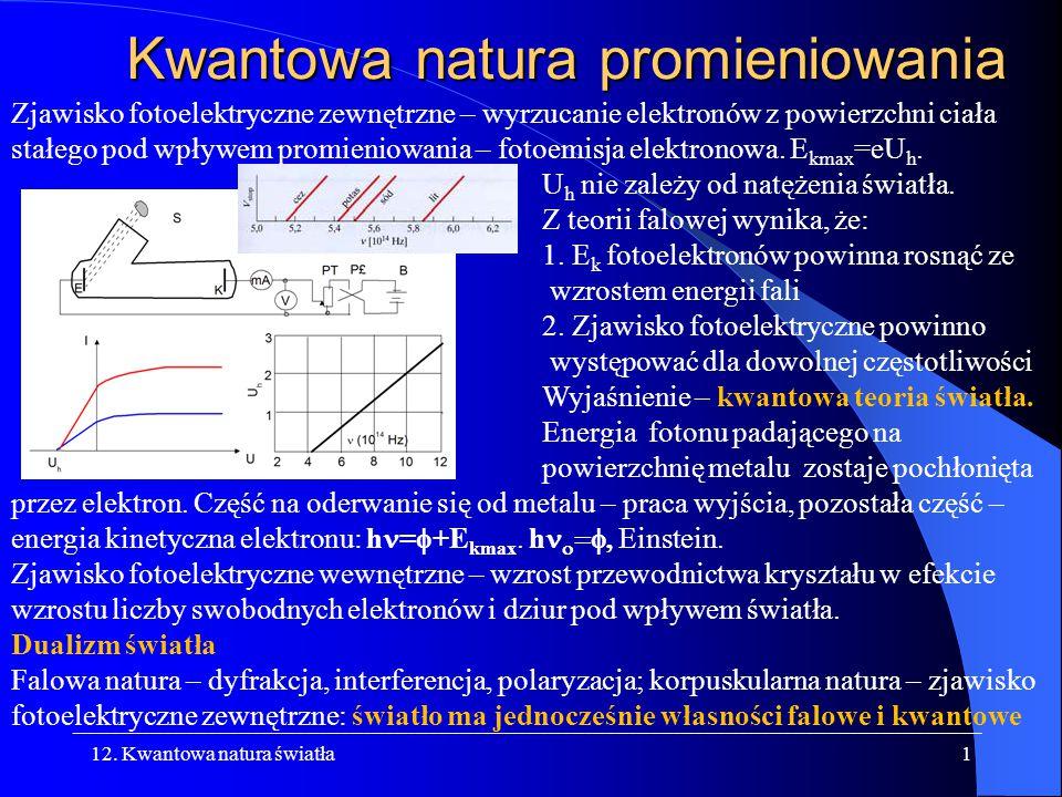 Kwantowa natura promieniowania