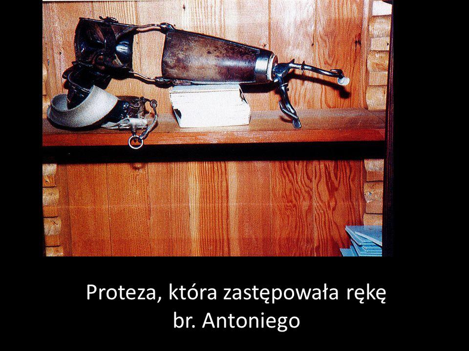Proteza, która zastępowała rękę